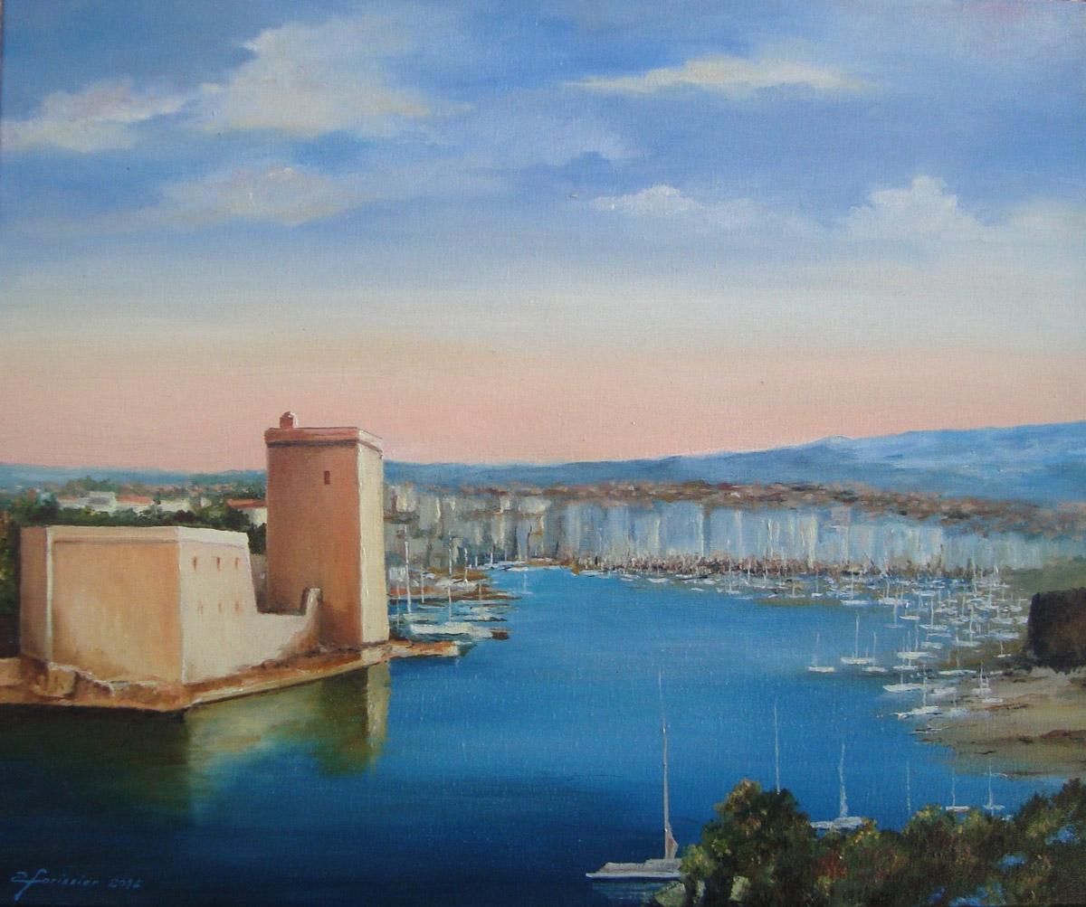 Albert Forissier Peintures Marseille Entr 233 E Du Vieux Port